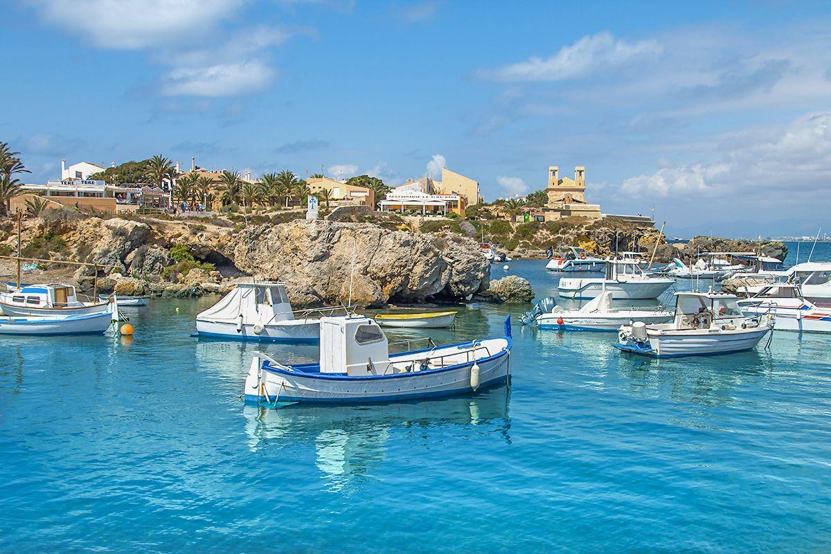 Tabarca-wyspa w Hiszpanii