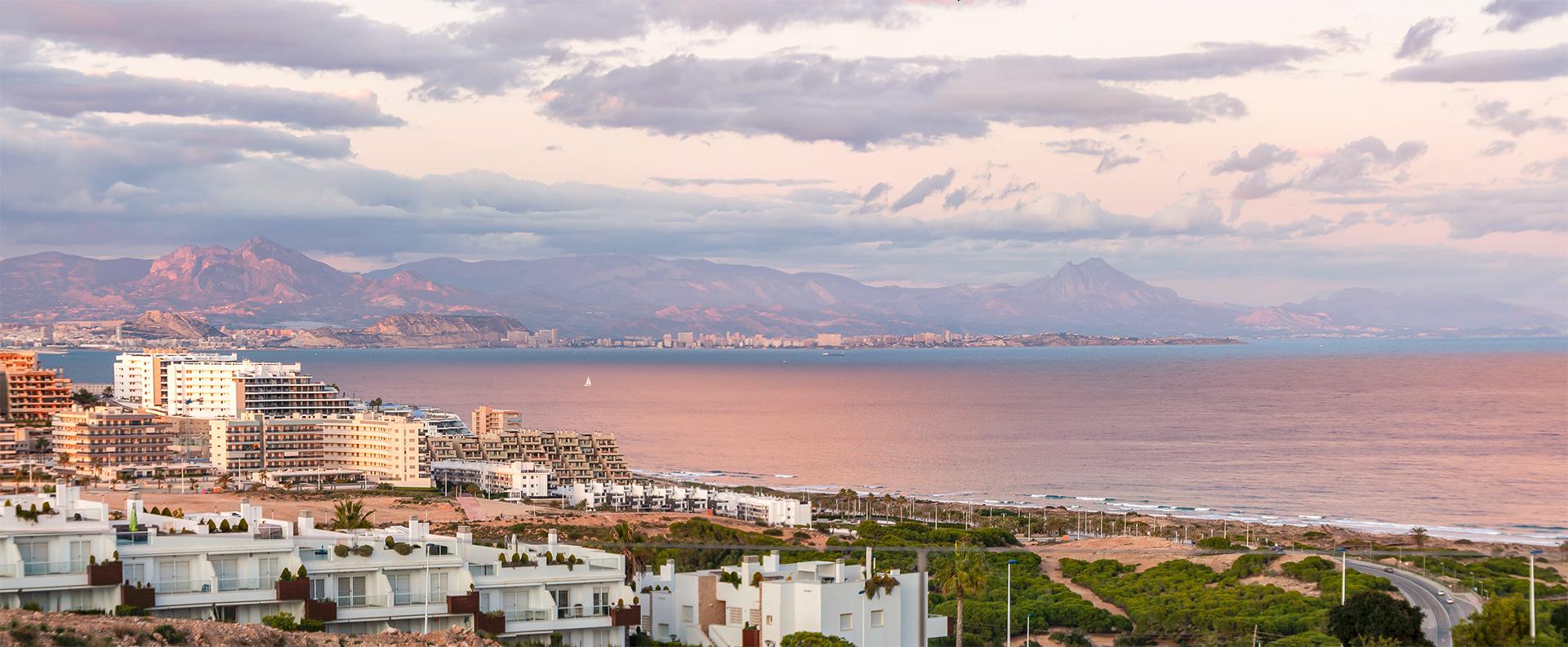 Widok z apartamentu REF00236 w Gran Alacant.