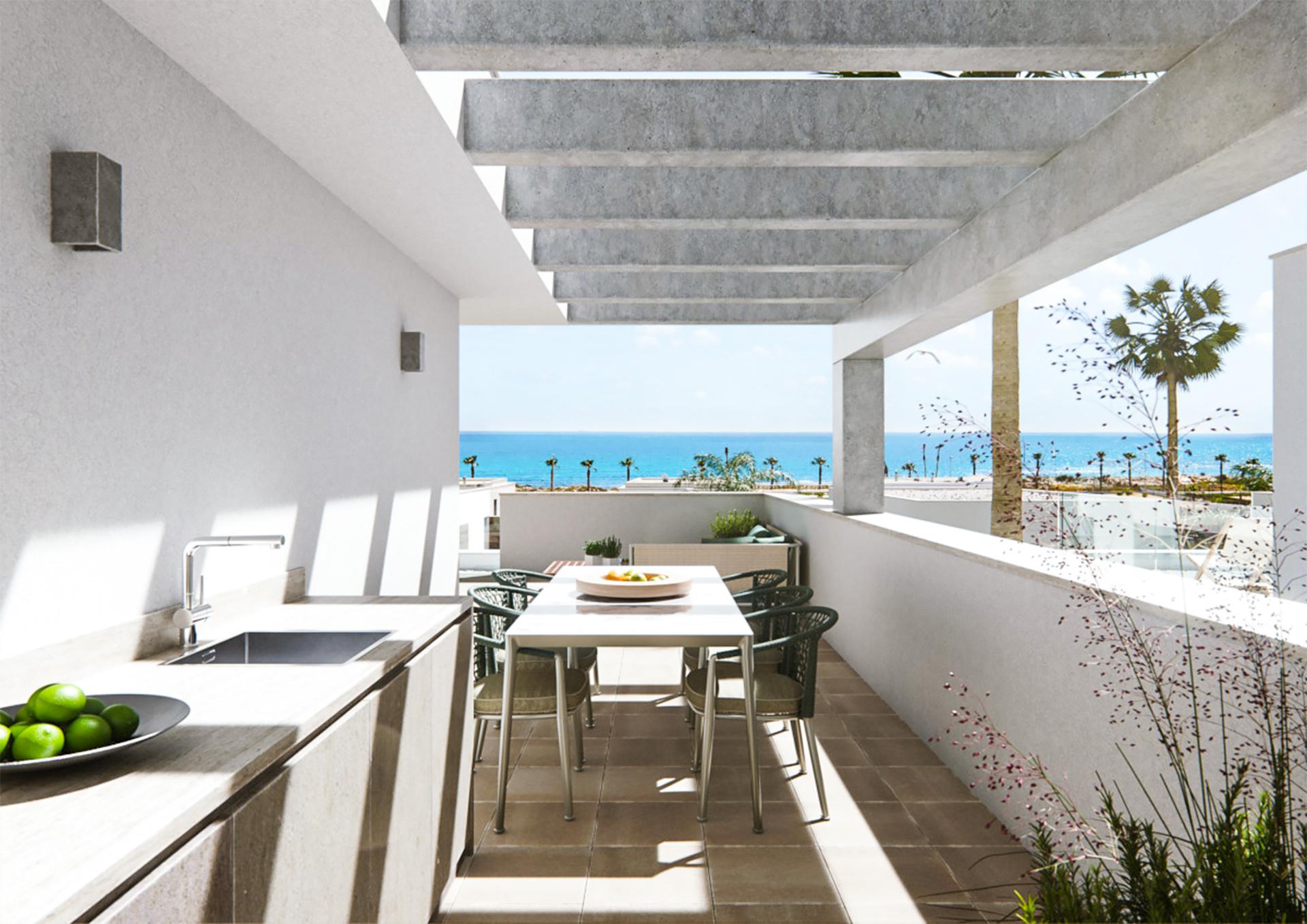 REF00456 Luksusowe wille w Torre de la Horadada na wybrzeżu Costa Blanca w Hiszpanii.