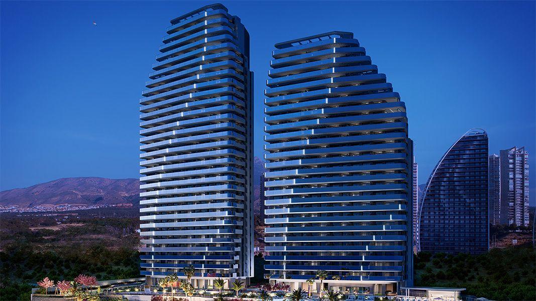 REF00470 Apartamenty przy plaży w Benidormie na wybrzeżu Costa Blanca w Hiszpanii